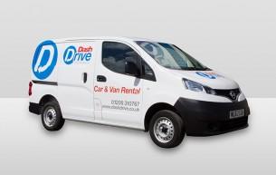 Small Panel Van - Dash Drive