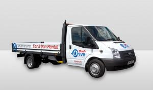 Dash Drive Van Rental - 3.5 tonne dropside