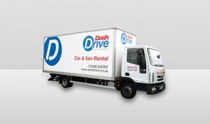 7.5tn Truckl Dash Drive Iveco