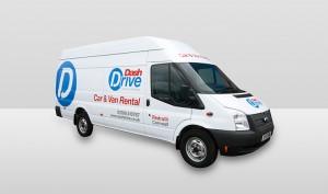 Ford Transit Jumbo van Dash