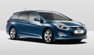 Hyundai i40 estate Rental car Dash