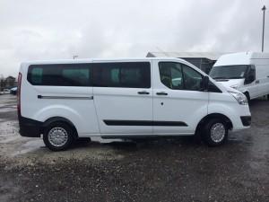 9 Seat Minibus side Tourneo