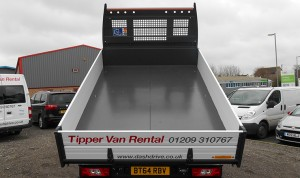 Transit Tipper rental