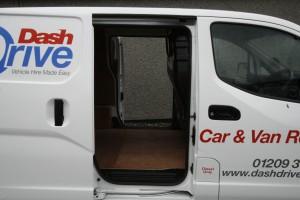 NV200 van side loading door