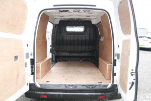 Nissan NV200 Van rear doors