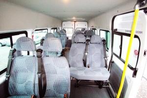 17 Minibus internal