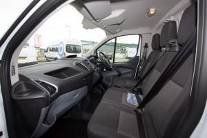 Dash Drive Transit Custom inside