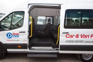 Minibus rentals side door Dash Drive