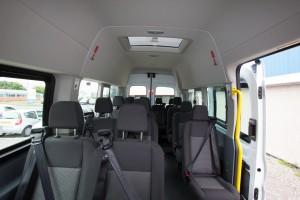 Dash Drive Minibus Hire internal