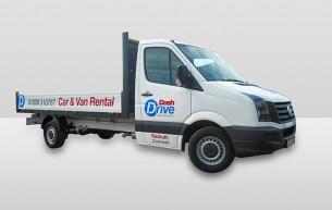 Dropside Truck rental